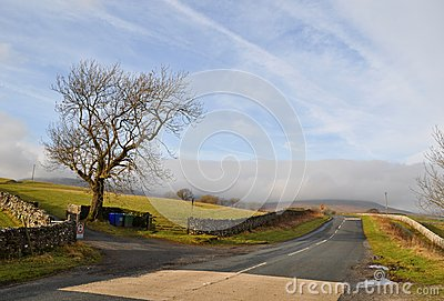 Yorkshire dales road  England