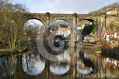 Yorkshire viaduct knaresborough  England