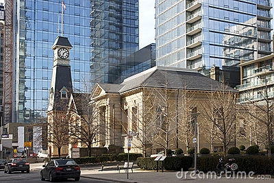 Yorkville Fire Hall and Public Library - Toronto Editorial Photo