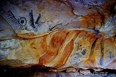 Yorumbulla Caves, Flinders Ranges Royalty Free Stock Photo - Image: 15823045