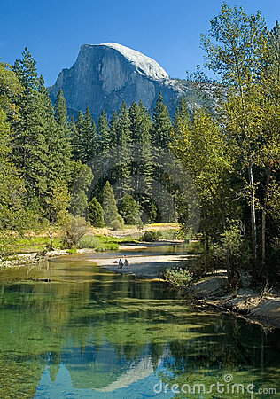 Free Yosemite S Half-dome Stock Image - 1500991