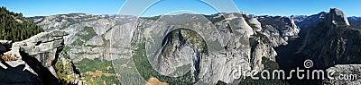 Yosemite Valley California Panorama