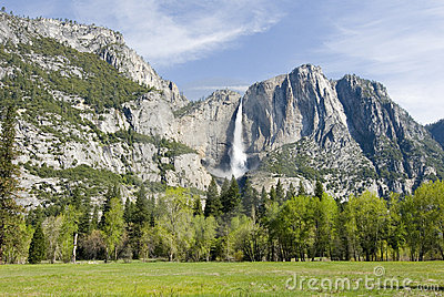Yosemite valley chute