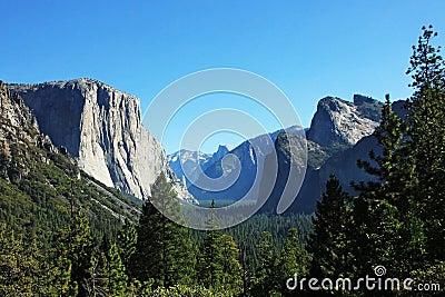 Yosemite Valley Landscape in California USA