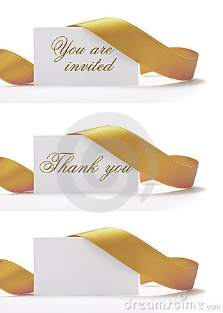 Free You Are Invited Stock Image - 19242811