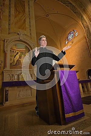 Priest, Preacher, Minister, Clergy, Religion