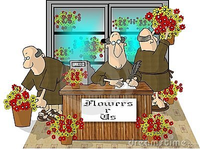 Only you can prevent florist friars