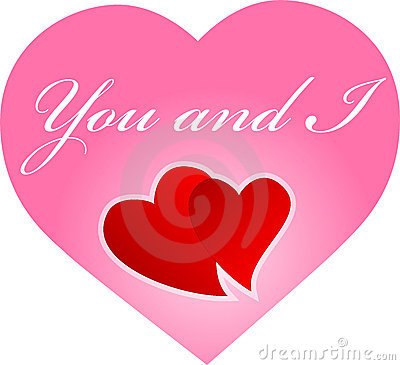 You and I hearts