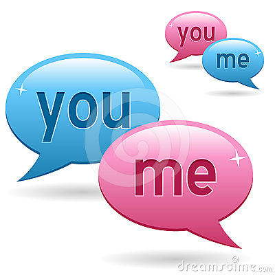 You & Me Chat Logo