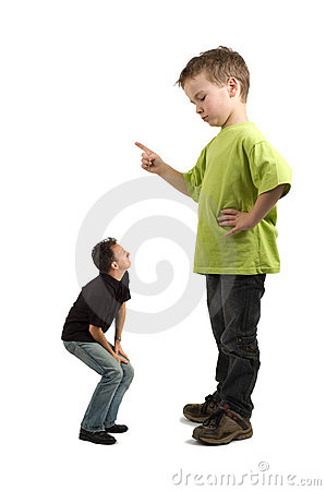 Free You Naughty Dad! Stock Photography - 4054612