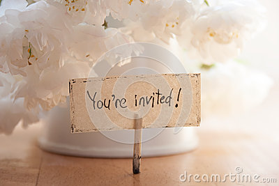 You Re Invited Stock Photo Image 40282017