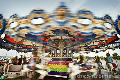 You Spin Me Merry Go Round Right Round