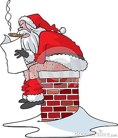 You ve been bad Santa