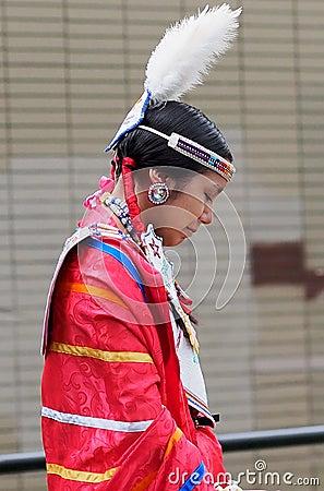 Young Aboriginal Dancer Editorial Image
