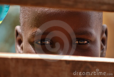 Young african boy Editorial Photography