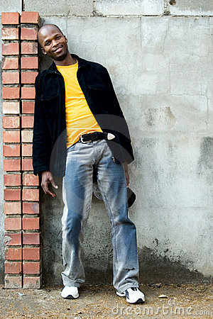 Free Young African Man Royalty Free Stock Photos - 995918