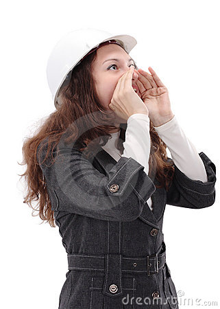 Free Young Architect Woman Stock Image - 18508551