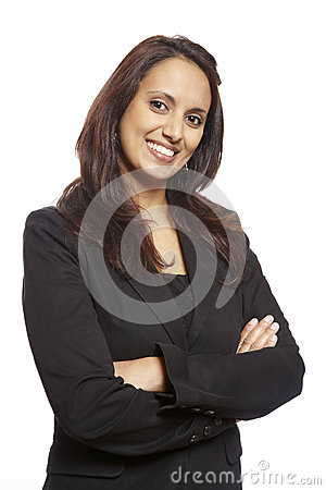Free Young Asian Adult Business Woman Smiling Stock Image - 28893301