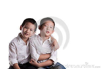 Young Asian Brothers