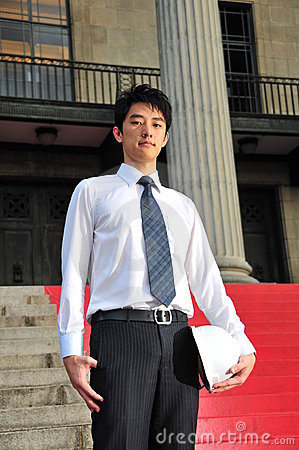 Young Asian Engineer 1