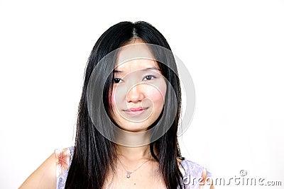 Young asian girl 001