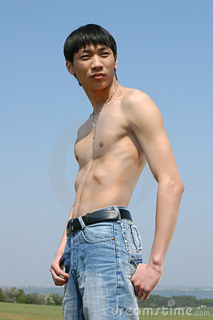 Young Asian Man