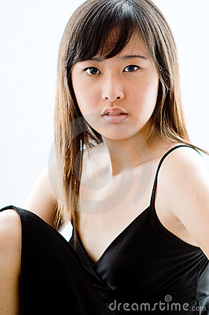 Young Asian Model