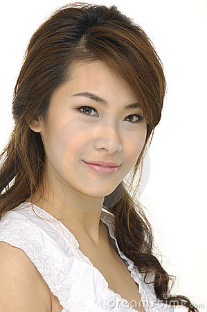 Free Young Asian Woman Stock Photography - 7580472