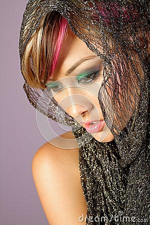 Young asian woman beauty shot