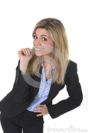 Free Young Attractive  Business Woman With Blond Hair Posing Friendly Smiling Happy Stock Image - 68537421