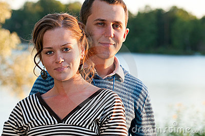 Young Attractive Couple Stock Images - Image: 19008864