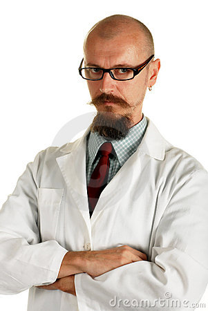 Young attractive male doctor