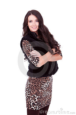 Free Young Beautiful Woman Royalty Free Stock Photography - 22088957