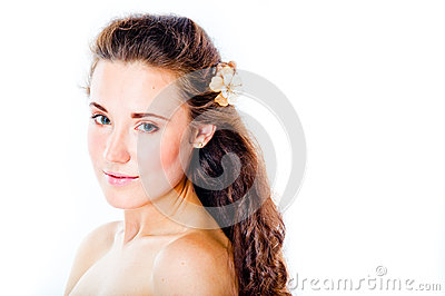 Young and beautiful woman