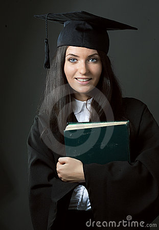 Free Young Beauty Graduate Woman Royalty Free Stock Photos - 15111438