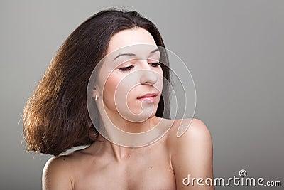 Young beautyful woman