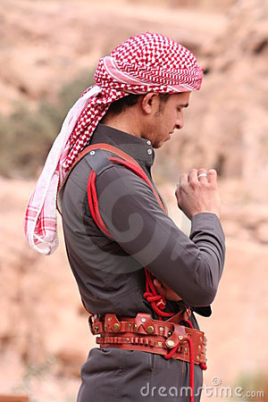 Young Bedouin Man Editorial Photo