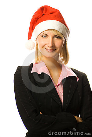 Free Young Beutiful Business Woman Stock Photography - 3553382