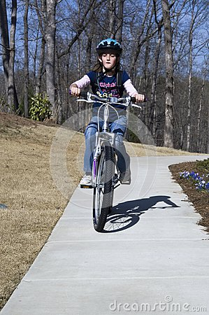 Young Bicycle Rider