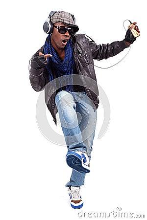 Free Young Black Men Dancing Royalty Free Stock Photos - 24228948