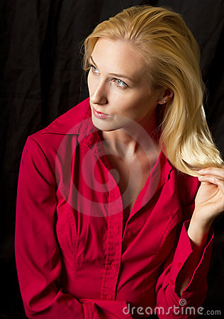 Free Young Blond Woman Royalty Free Stock Image - 15217926