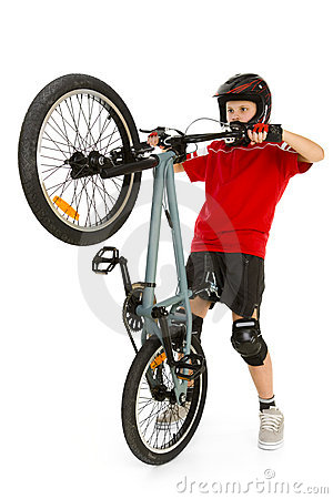 Free Young BMX Rider Stock Images - 4362284
