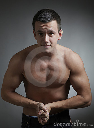 Young bodybuilder