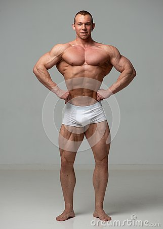 Free Young Bodybuilder Stock Images - 135409824