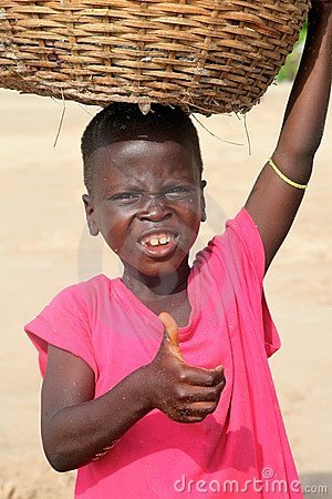Young boy in Africa Editorial Stock Photo