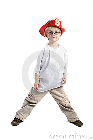 Young Boy With Helmet Royalty Free Stock Photos - Image: 2471298