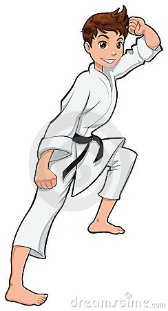 Free Young Boy, Karate Player Royalty Free Stock Photography - 19400067