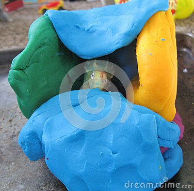 Kids clay crafts