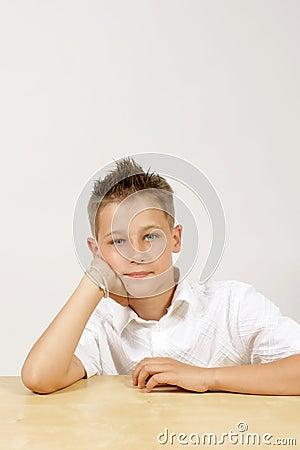 young boy - portrait
