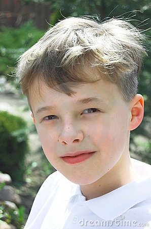 Young boy portrait